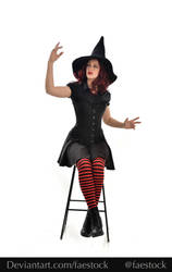 Hocus Pocus -  Witch stock model reference 11 by faestock