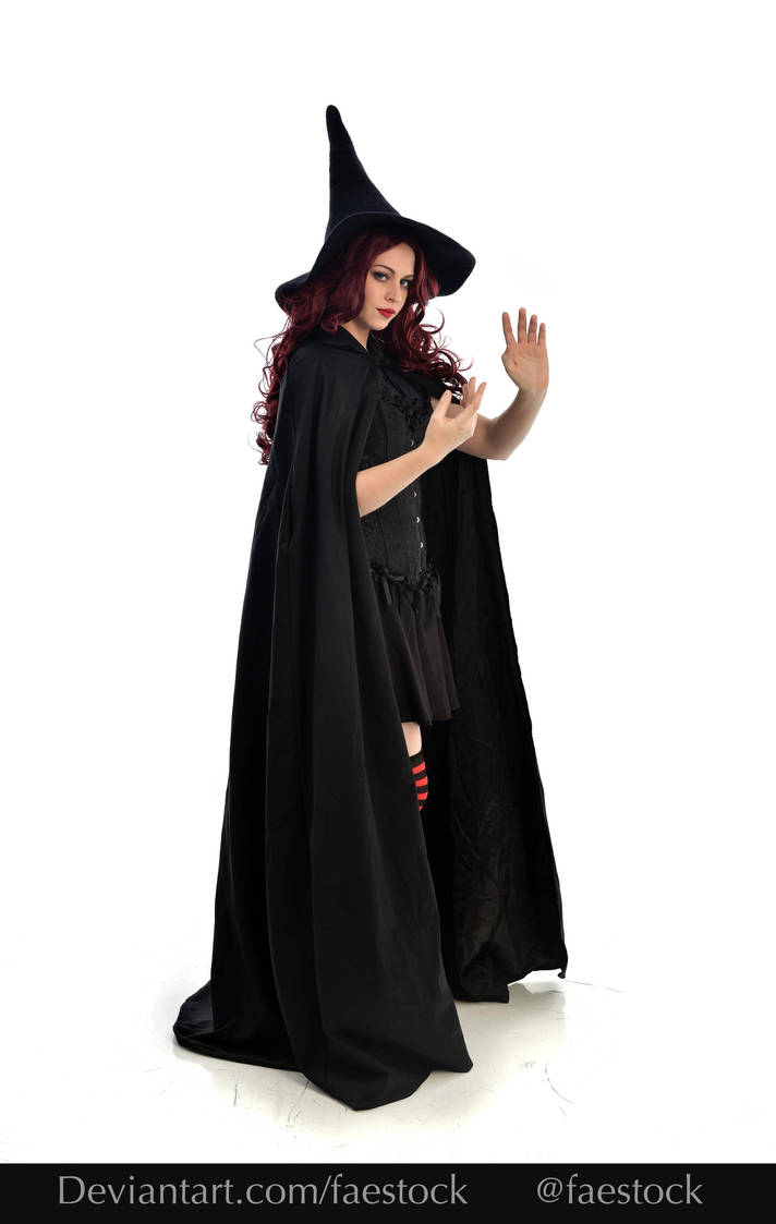 Hocus Pocus -  Witch stock model reference 15 by faestock