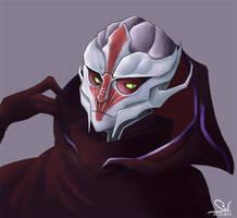 Nyreen Kandros - Mass Effect 3 by Salayanara