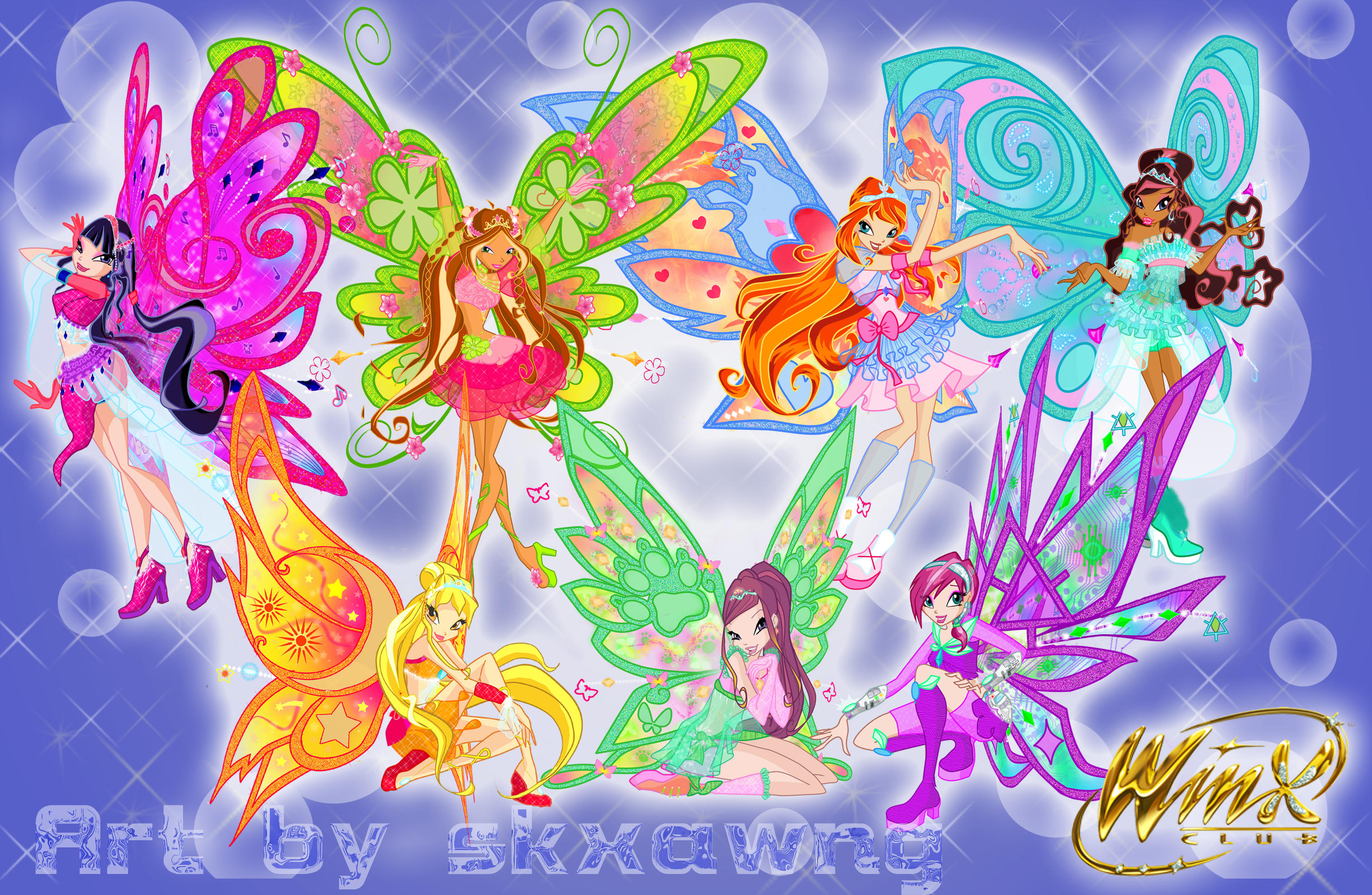 Winx new transformations by skxawng15
