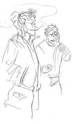 Jul 31 warm up sketch by bigbigtruck