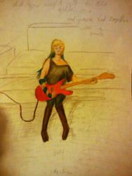 Guitar Redraw: 2014 by Bodici22