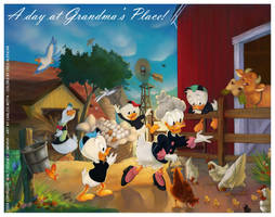 Grandma Duck by CarlosMota