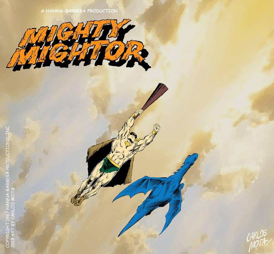 Mighty Mightor by CarlosMota