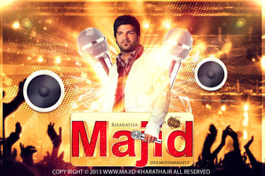 Majid Kharatha Concert Wallpaper by Mohammad-GFX