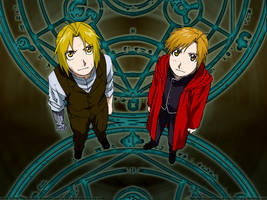 Full Metal Alchemist Wallpaper by LizieVamp