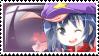 Miyako Yoshika Stamp by LunachiMelochi