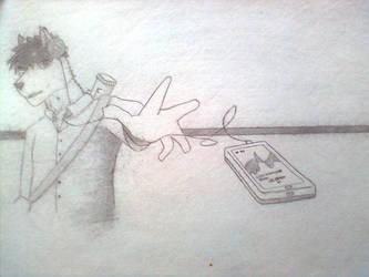 [sketch] Ryuki re-design by irfan9835