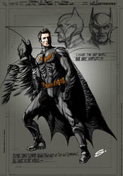 Batman Costume concept by stevescott