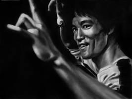 Bruce Lee by straycat27