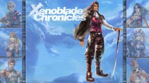 Lucky 7: Xenoblade Chronicles - Dunban by MrJechgo