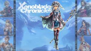 Lucky 7: Xenoblade Chronicles - Melia by MrJechgo