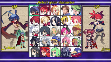 Disgaea Brawl: select your character by MrJechgo