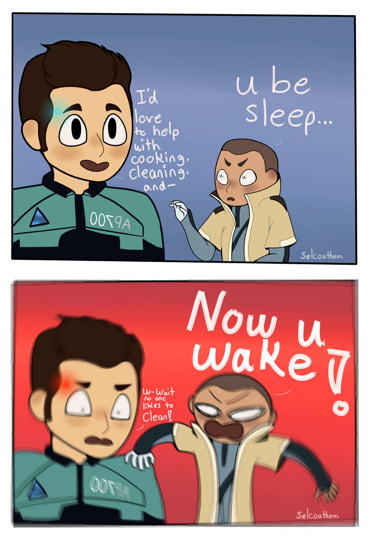 U be sleep now u wake by INTHEDARK001