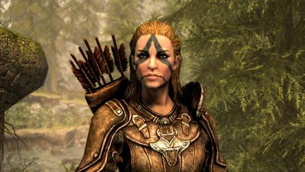 Valshea returns to Riverwood by Burhenn63