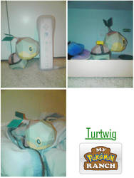 my turtwig papercraft by cucumber-303
