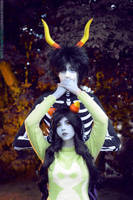 Kurloz and Meulin Cosplay by Sioxanne