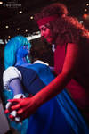 Sapphire and Ruby Cosplay by Sioxanne