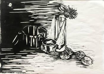 Still Life Printing #1 by Ciryu