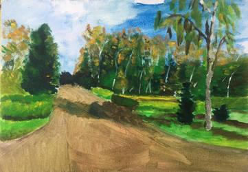 Landscape Study #2 by Ciryu