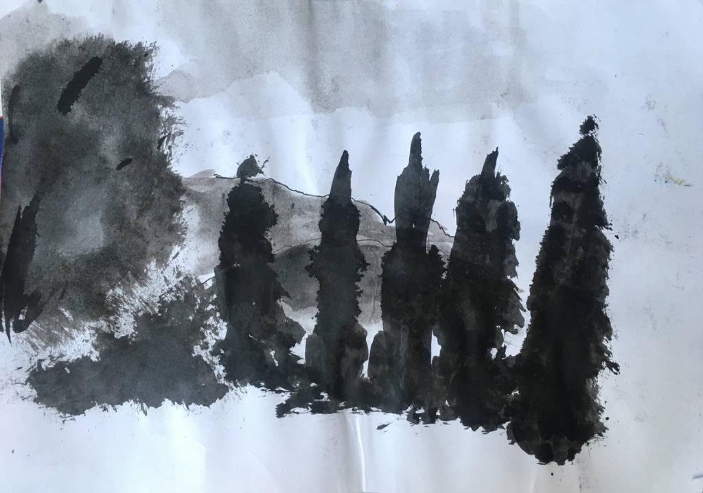 Landscape study - sketch #2 by Ciryu