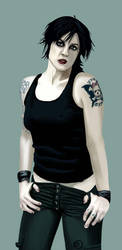 Brody Dalle by mennyo