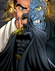 Batman color by mennyo