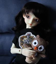 Owl amigurumi by Minnake