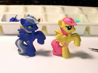Blue Lace - MLP blind bag custo by Minnake