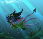 Dragon girl by Nothofagus-obliqua