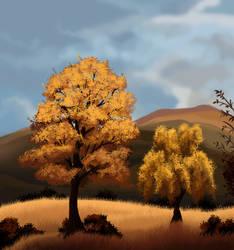 Vanilla trees by Nothofagus-obliqua