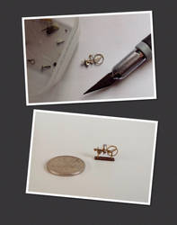 Clockmakers' tools: Cog making by Jalpon
