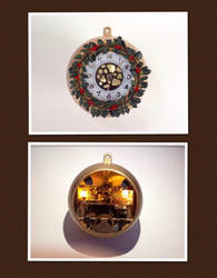 The Christmas Clock by Jalpon
