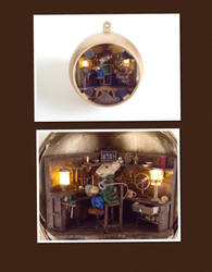 The Christmas Clock: Finished Interior by Jalpon