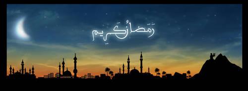 Ramadan kareem by WATER-ARTS