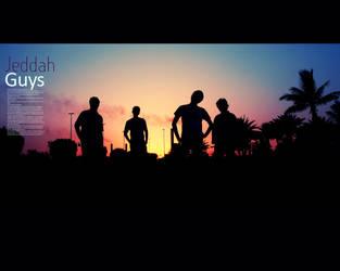 Jeddah guys by WATER-ARTS