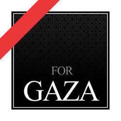 FOR GAZA by WATER-ARTS
