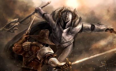 Warhammer - Chosen of Chaos vs Empire Witch Hunter by MyNameIsByron