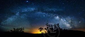 Milky Way Rainbow by ExplicitStudios