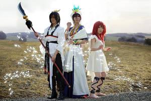 Magi Group Shoot by Karumen-Chan