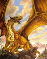 Golden dragon by Bisanti