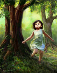 Adora - portrait by Bisanti
