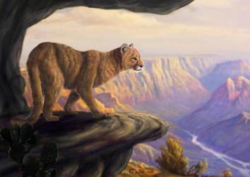 Grand canyon guardian by Bisanti