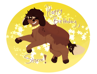 gift- storm by Sierracat7807
