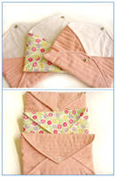 Quilted envelopes by restlesswillow