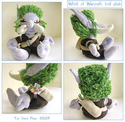 World of Warcraft Troll Plush by restlesswillow