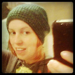 Crocheted myself a hat by restlesswillow