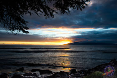 Maui Sunset - 01 by RocketQueenImaging