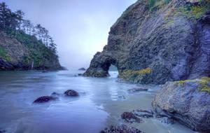 Secret Cove stock background by little-spacey