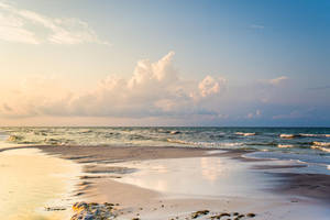 Dreamscape Beach Background Stock III by little-spacey
